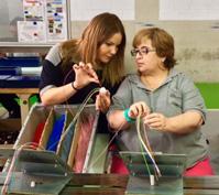 Modelo de formación dual adaptado a personas con discapacidad psíquica: HARROBI